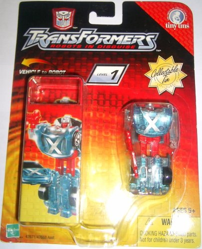 Crosswise Transformers RID R.I.D. Robots in disguise Tiny tin 2003