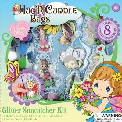 Precious Moments Hug 'N Cuddle Bugs Glitter Suncatcher Kit front-13230