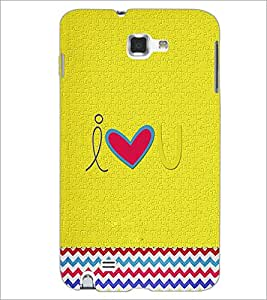 PrintDhaba Quote D-3921 Back Case Cover for SAMSUNG GALAXY NOTE 1 (Multi-Coloured)