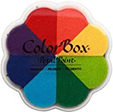 Clearsnap ColorBox Pigment Petal Point Option Inkpad 8-Color, Pinwheel