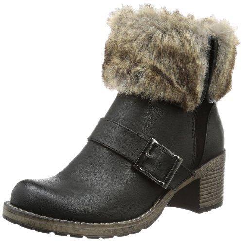 Jane Klain Womens 264339 Chelsea Boots Black Schwarz (black 004) Size: 6.5 (40 EU)