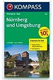 Nürnberg und Umgebung: Wanderkarten-Set mit Naturführer in der Schutzhülle. GPS-genau. 1:50000