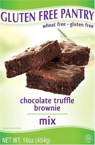 The Gluten-Free Pantry Chocolate Truffle Brownie Mix, 16-Ounce Boxes (Pack of 6)