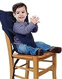 Vine Desmontable y Ajustable Asiento Portatil Trona de Viaje para Bebé, color azul oscuro