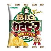 山芳製菓 ポテトチップスBIGわさビーフ 113g×15袋