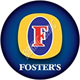 FOSTERS LAGER Edible Cake Toppers PRECUT 24 x 1.3
