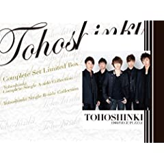 COMPLETE SET Limited Box TOHOSHINKI COMPLETE SINGLE A-SIDE COLLECTION�{TOHOSHINKI SINGLE B-SIDE COLLECTION�y������萶�Y�Ձz