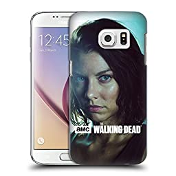 Official AMC The Walking Dead Maggie Characters Hard Back Case for Samsung Galaxy S7