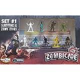 Rare Promo Zombicide Set #1 Survivors & Zomb'ivors