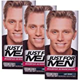 3 x Just For Men Shampoo In Hair Colour Multi Pack - 8 Shades Available