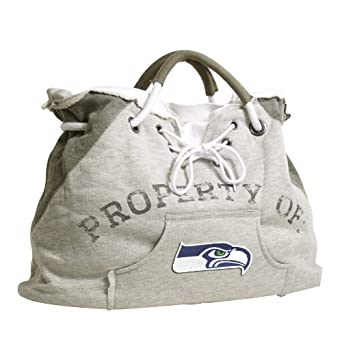 NFL Seattle Seahawks Hoodie Tote, Grey 1 by Littlearth