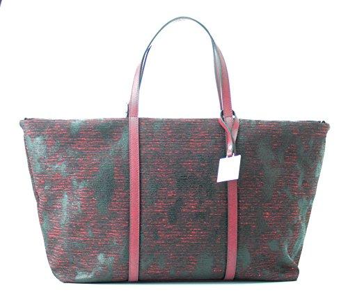 TOSCA BLU (Ginseng Tea) Borsa Shopping Pelle Grande TF1615B14