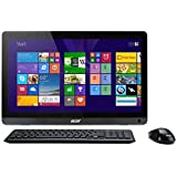 Acer Aspire ZC-107 19.5 inch All-in-One PC (AMD E2-6110 1.5GHz, 4GB RAM, 1TB HDD, DVDRW, Integrated Graphics, Windows 8.1)