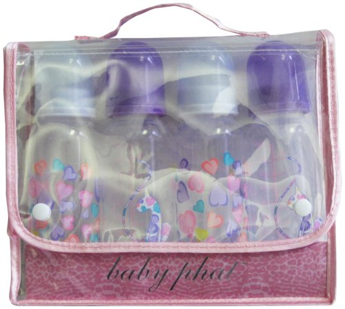 Baby Phat 4 Piece Bottle Set, Heart front-39834