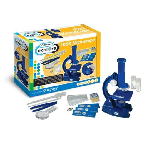 Discovery Channel 100X Microscope Set (36Pc)