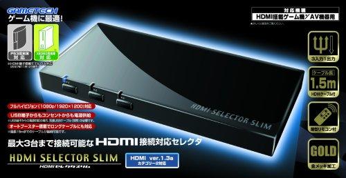 【Amazonの商品情報へ】各種ゲーム機用AVセレクタ『HDMIセレクタスリム』