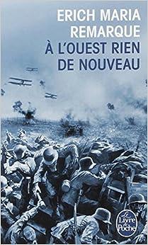 Ouest Rien de Nouveau (Ldp Litterature) (French Edition) (French