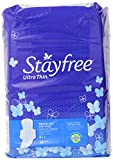 Stayfree Ultra Thin Pads for Women with Wings, Regular - 36 Count
