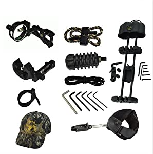 Topoint Archery, Archery Upgrade Combo,bow Sight,arrow Rest,bow Stabilizer,peep... by Topoint