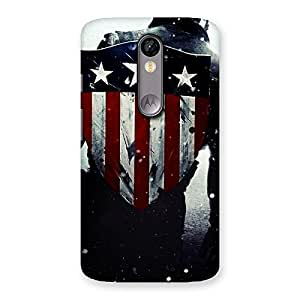 Special Premier Strong Back Multicolor Back Case Cover for Moto X Force
