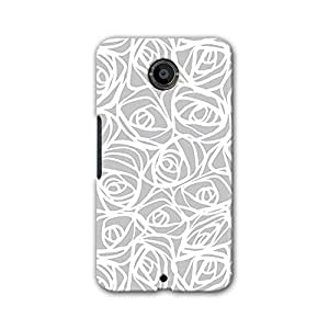 ArtzFolio Abstract Pattern : Google Nexus 6 Matte Polycarbonate ORIGINAL BRANDED Mobile Cell Phone Protective BACK CASE COVER Protector : BEST DESIGNER Hard Shockproof Scratch-Proof Accessories