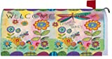 Welcome Dragonfly 1932MM Magnetic Mailbox Cover Wrap