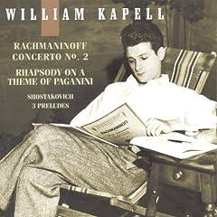 輸入盤CD カペル独奏 ラフマニノフ:ピアノ協奏曲第2番、パガニーニの主題による変奏曲ほかの商品写真