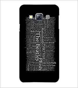 PrintDhaba Typography D-2066 Back Case Cover for SAMSUNG GALAXY A3 (Multi-Coloured)