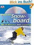 Snowboard: mit 30 Minuten DVD-Coachin...