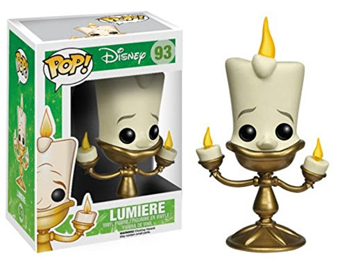 Funko Pop Disney La Bella e la Bestia Lumiere