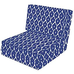 Actual Color Ikat Your Zone Flip Chair
