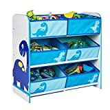 Toy Organizer DINO Dinosaur Kids Storage Regal Aufbewahrungsboxen Kinderregal 6