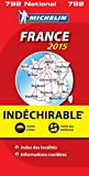 Carte France 2015 Indéchirable Michelin...