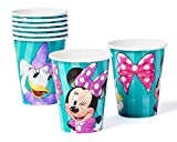 Minnie Mouse Bowtique 9oz Paper Party Cups, Pack of 8, Party Supplies