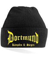 Dortmund Ultras Kämpfen & Siegen Strickmütze