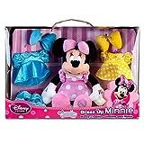 Disney Store Authentic, Dress Up Minnie Mouse Plush Soft Doll-- 14