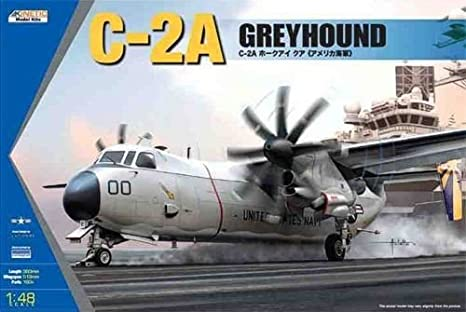 Kinetic 48025 Grumman C-2A Greyhound 1:48 Plastic Kit Maquette