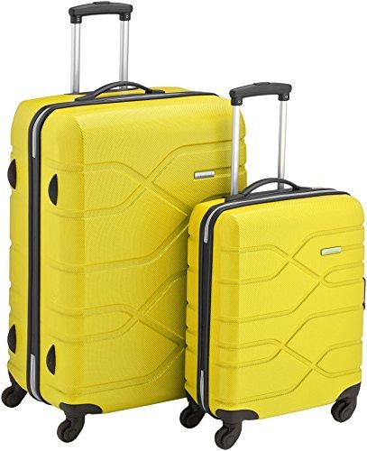 american-tourister-set-de-bagages-houston-city-2-pieces-75-cm-jaune