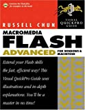 img - for Macromedia Flash MX Advanced for Windows and Macintosh: Visual QuickPro Guide book / textbook / text book