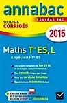 Annales Annabac 2015 Maths Tle ES, L:...