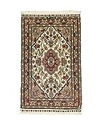 Eden Carpets Alfombra Kashmirian Marrón/Multicolor 95 x 61 cm