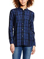 Levi's Camisa Mujer Workwear Boyfriend (Azul)