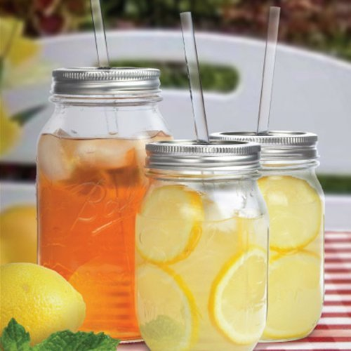Redneck 2-Pack Sipper Drinking Jar