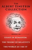img - for The Albert Einstein Collection: Essays in Humanism, The Theory of Relativity, and The World As I See It book / textbook / text book