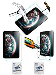 Acm Pack Of 2 Tempered Glass Screenguard For Lenovo Ideatab A3000 Tablet Screen Guard Scratch Protector
