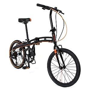 DOPPELGANGER 2017年モデル ライトウェイトフォールディングバイク blackmaxシリーズ 20インチ折りたたみ自転車