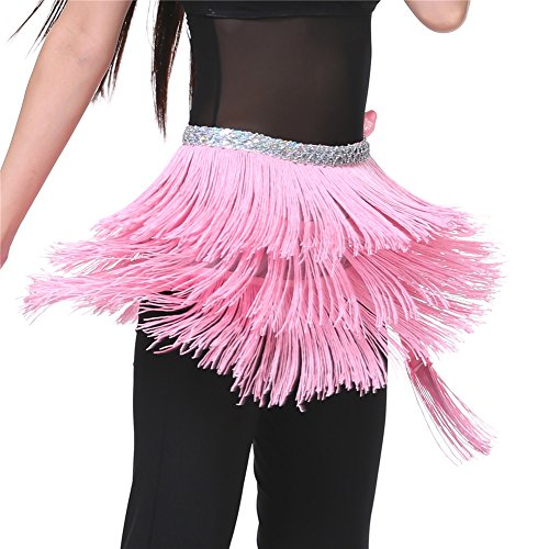 Dance Fairy Dance Pink Triangle Belly Dance Indian hip scarf Best gift