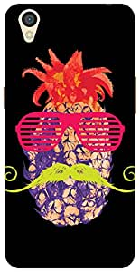 The Racoon Lean Pineapple Punk Neon hard plastic printed back case/cover for Oppo A37