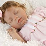 """Paradise Galleries Baby Doll """"Baby Avery"""" 19-Inch by Artist: Pat Moulton"""