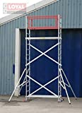 Loyal DIY Aluminium Scaffold Towers - Super DIY 5++ (3 in One) (incl 4 outriggers)